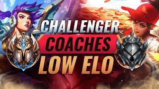 FASTEST Way To IMPROVE in League of Legends: CHALLENGER COACHES LOW ELO