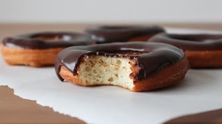 How To Make Chocolate Glazed Doughnuts - By One Kitchen Episode 71