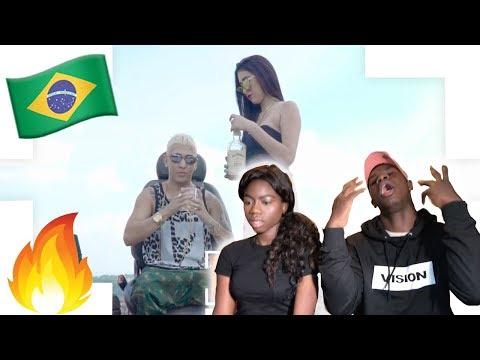 Minha Irma Reage ao MC Arraia - Posso Te Empurrar (GR6 Filmes) - BLACK REACTION