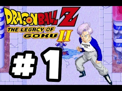DragonBallZ The Legacy Of Goku ll Part 1 - The History Of Trunks