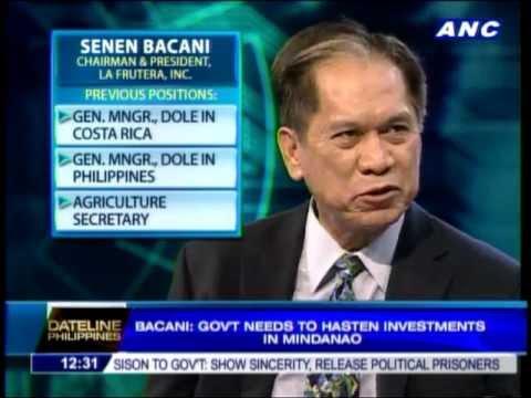 Gov't urged to hasten investments in Mindanao