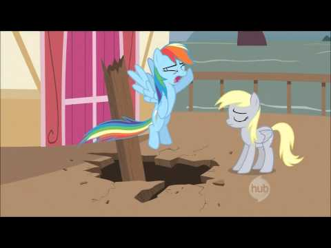 MLP:FiM// Derpy Hooves talks// S2 EP14 [1080p HD]