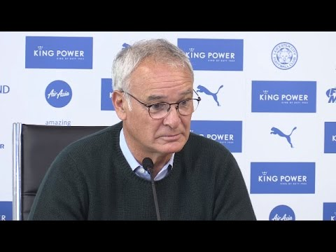 Press Conference With Leicester Manager Claudio Ranieri - Hull v Leicester