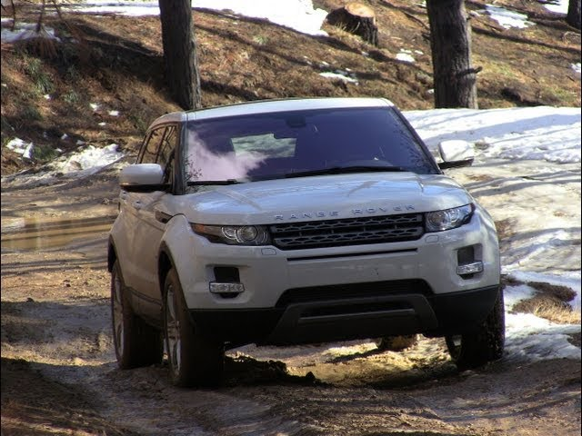 2012 range rover evoque colorado mountain off road review. Black Bedroom Furniture Sets. Home Design Ideas