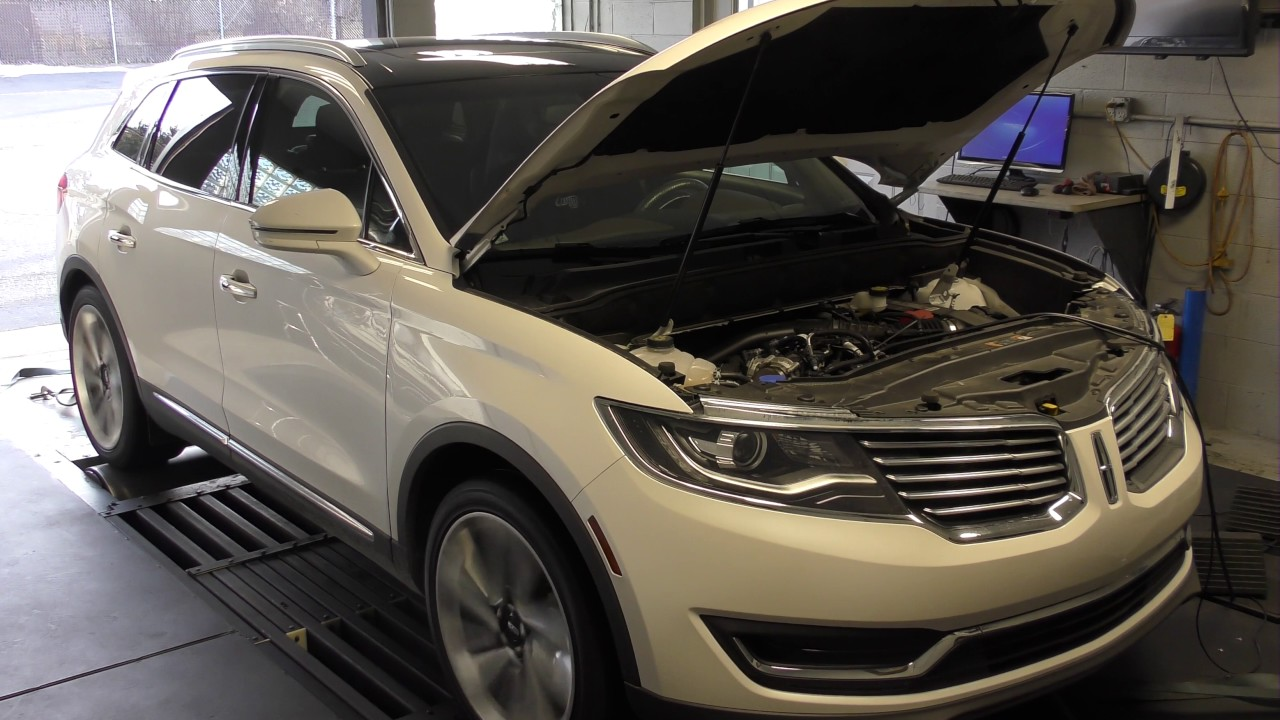 Ford Mustang Ecoboost 0 60 >> 2016 Lincoln MKX 2.7L EcoBoost Performance Tune - YouTube