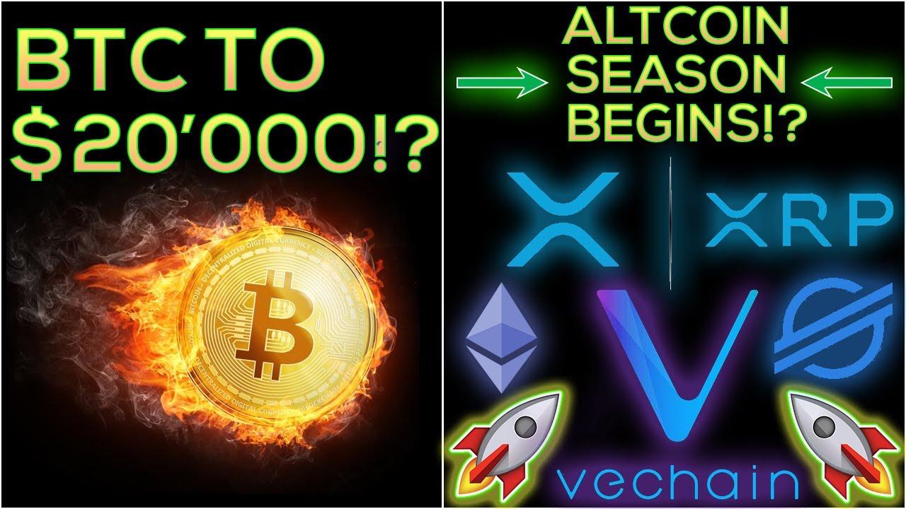 Altcoin Season Begins!!! + Bitcoin To $20'000? (HUGE BULL RUN) 1