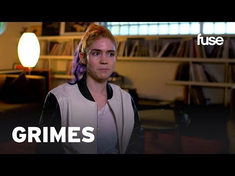 Download Grimes Says REALiTi Wasn't Supposed To Be A Music Video | Fuse Mp4 baru
