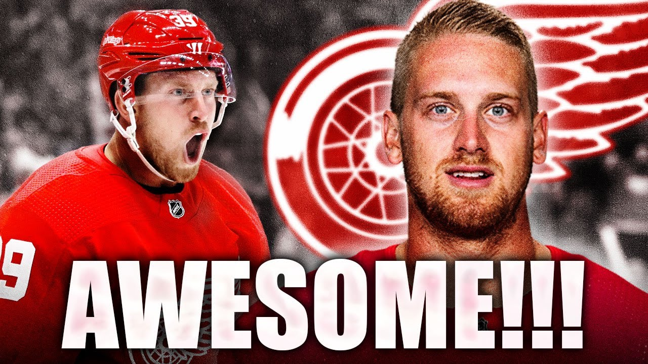 DETROIT RED WINGS SIGN ANTHONY MANTHA TO GREAT CONTRACT ...
