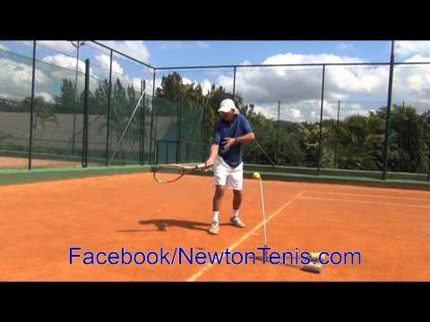 Aprenda jogar tenis - Aprenda bater de direita - Master the forehand  by NewtonTennis Tips