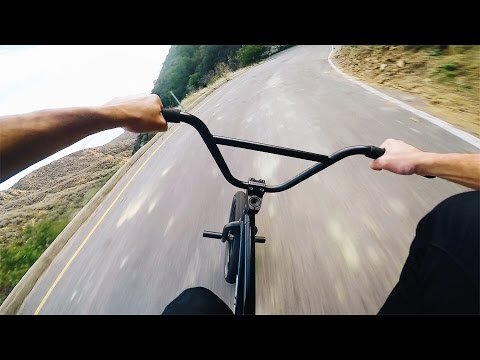 INTENSE BMX HILL BOMB - TOP SPEED *NO BRAKES*