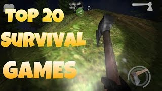Top 20 Best Survival Games For Android