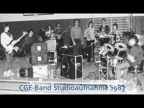 CGE-Band Studioaufnahme Musik Schulband Cusanus-Gymnasium Erkelenz 1983