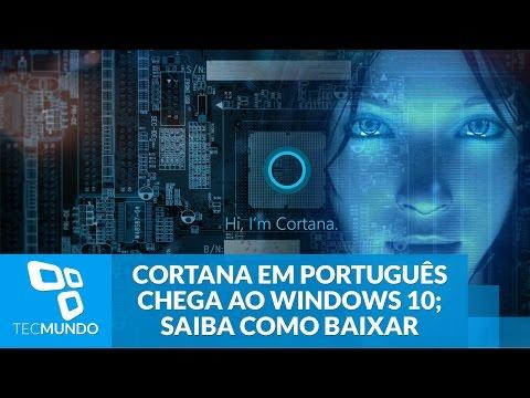 Cortana Em Português Chega Ao Windows 10 No Brasil - TecMundo