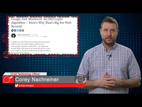 Google Shatters SHA-1 - Daily Security Byte