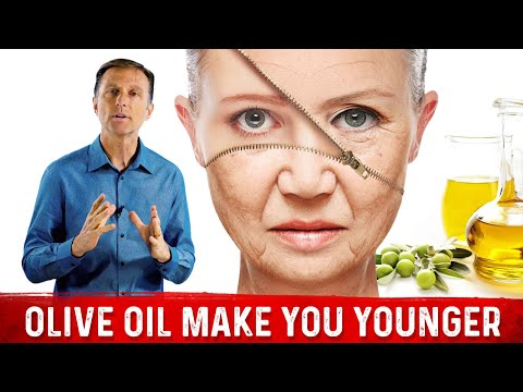 Olive Oil Gives a Great Anti-Aging Effect