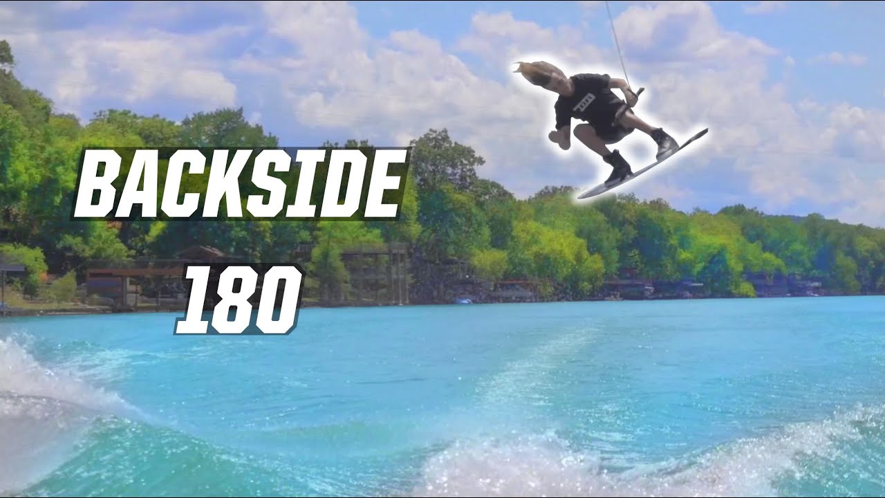 HOW TO BACKSIDE 180 - WAKEBOARDING - BOAT