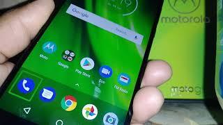 Turn off voice talkback on Moto g6 play Boost Mobile / Verizon Model XT1922-7