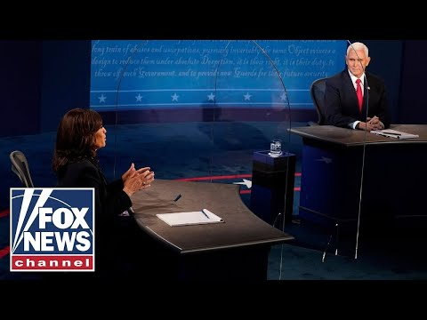 Pence and Harris speak for the first time since 'contentious' October debate