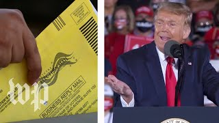 Answering Trump's questions about mail-in ballots