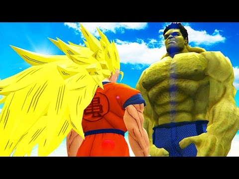 GOKU vs HULK - Epic Battle