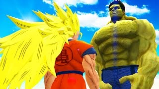 GOKU vs HULK - Epic Battle