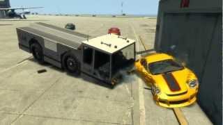 GTA4 - RUF RT12R Crash Test