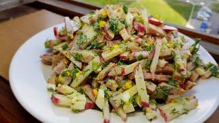 """Салат """"Пятиминутка"""" классный салат!!!"""