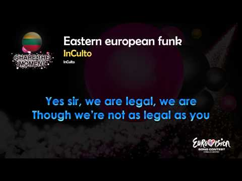 "Inculto - ""Eastern European Funk"" (Lithuania) - [Karaoke version]"
