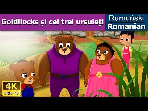 Goldilocks și cei trei ursuleți- povesti pentru copii - basme in limba romana - Romanian Fairy Tales