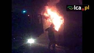 Spalił się autobus MPK - VIDEO