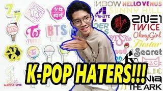 HATERS K-POP!!! Feat. Geraldytan
