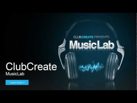 ClubCreate MusicLab -My First song-