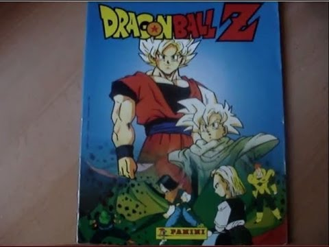 Dragon ball z character album sticker panini fr dbz n3