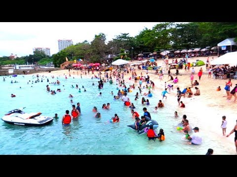 Mactan Newtown Beach | Cebu Philippines - Too crowded for yo