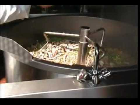 Nilma Salsamat - automatic braising pan with mixer - seen here making seafood risotto