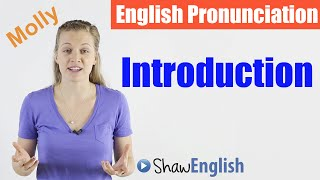 English Pronunciation Introduction