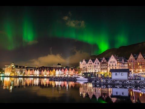 Bergen Norvège HD