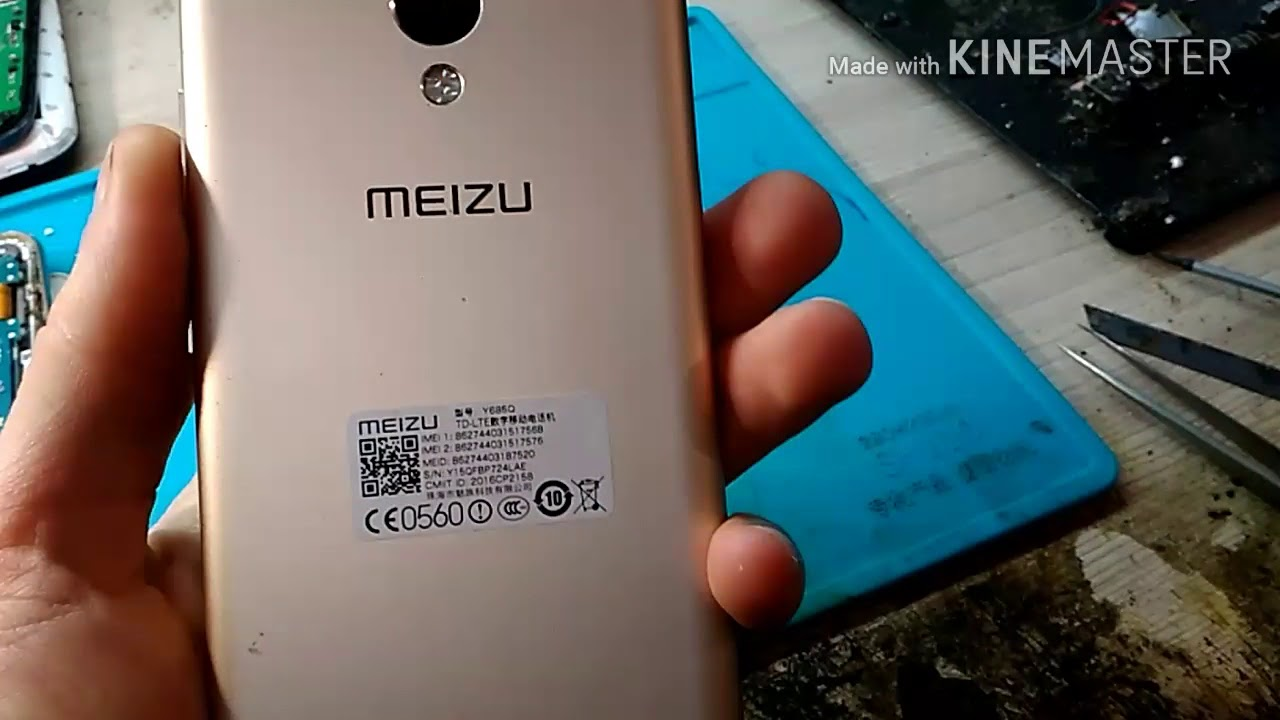 Meizu M3s hard reset