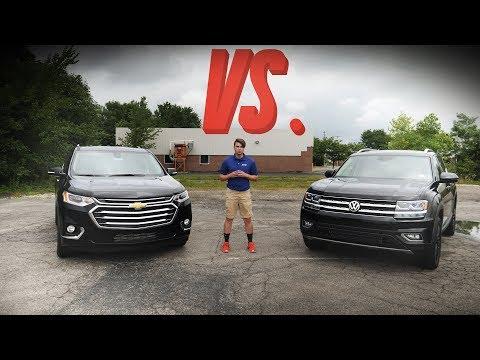 2018 Chevrolet Traverse vs. 2018 Volkswagen Atlas - Crossover Comparison