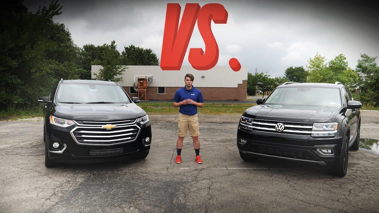2018 Volkswagen Atlas Crossover Comparison