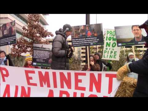 Bold Iowa press conference 12/15/16 #noDAPL #stopeminentdomainabuse