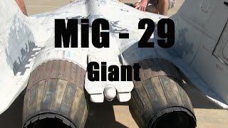 RC Jet Twin Turbine Scale MiG-29 Airplane