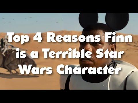 4 Reasons Finn is a Terrible STAR WARS Character