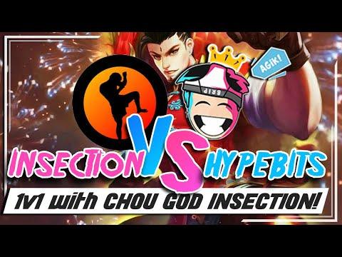 INSECTION VS HYPEBITS, SOBRANG GALING MAG CHOU!
