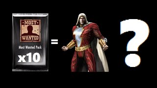 Repeat youtube video Injustice Gods Among Us iOS 10 Most Wanted Packs #1