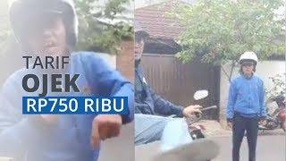 VIRAL Penumpang Dipaksa Naik, Ternyata Tarif Ojek hingga Rp750 Ribu