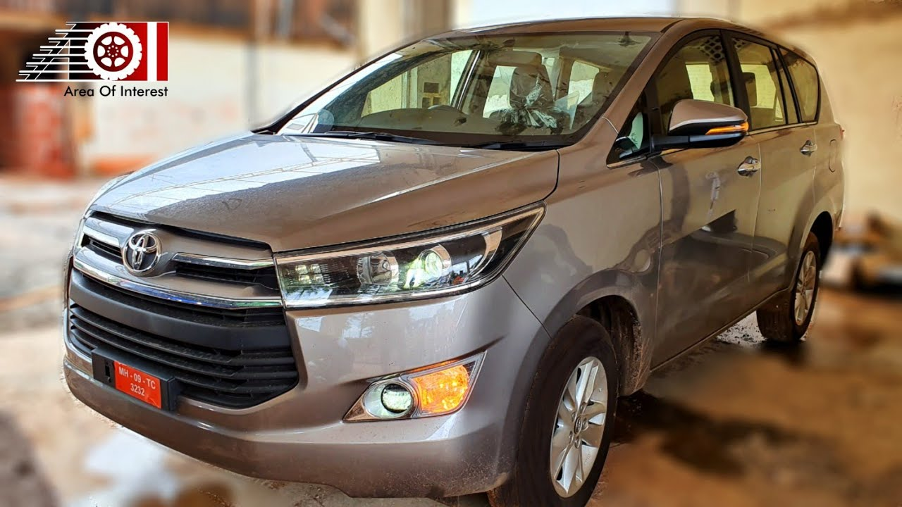 Toyota Innova Crysta V Model 8 Seater Mt Price Mileage Interior Features Specs Youtube