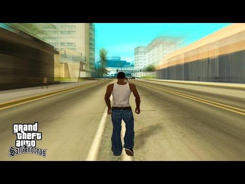 GTA San Andreas - Walk Across The Map Timelapse