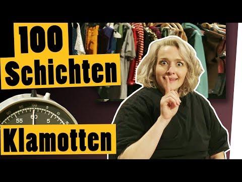 """Challenge: 100 Schichten Klamotten – schafft Ari es?    """"Das schaffst du nie!"""""""