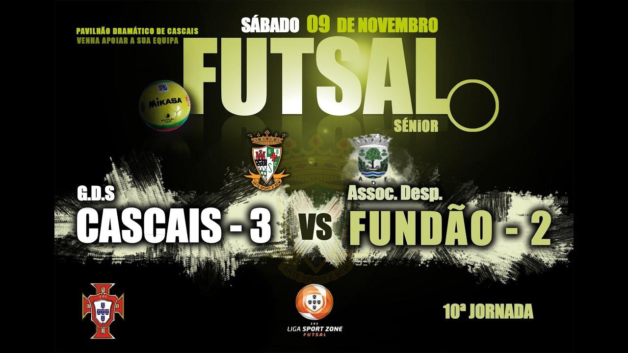 e479187057899 Resumo Liga Sport Zone Futsal 10ª J. Cascais 3 - 2 Fundão - YouTube